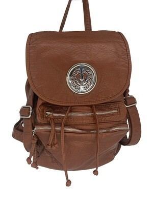 19296 Our Washed B Pack camel