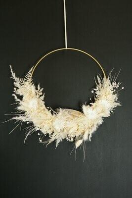 White Dream Small | Trockenblumen Loop