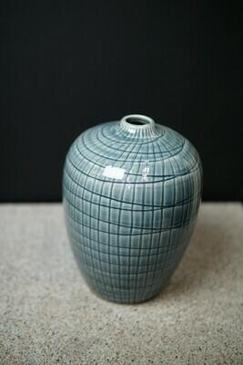Vase | Retro Blue