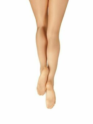 1808C Capezio Child Footed Shimmer Tights