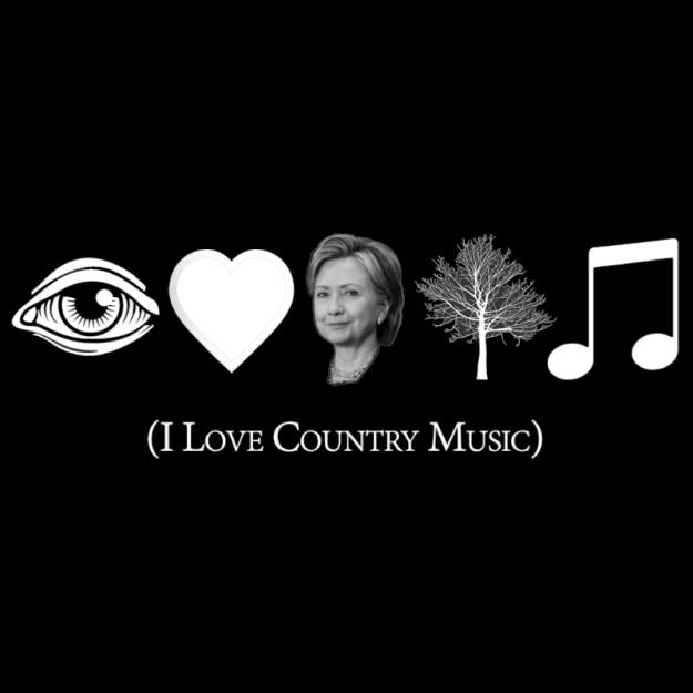 T-Shirt - I Love Cuntry Music