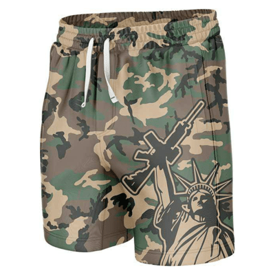 GH Swim Trunks - Camo Liberty