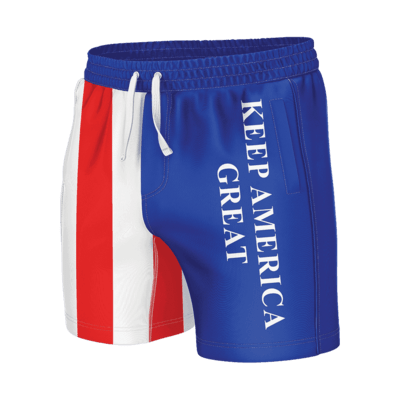 GH Swim Trunks - Keep America Great (Shorties)