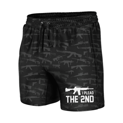 GH Swim Trunks - I Plead the 2nd (Shorties)