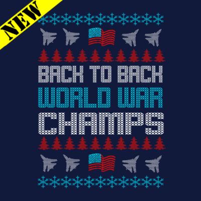 T-Shirt - Christmas Sweater - World War Champs