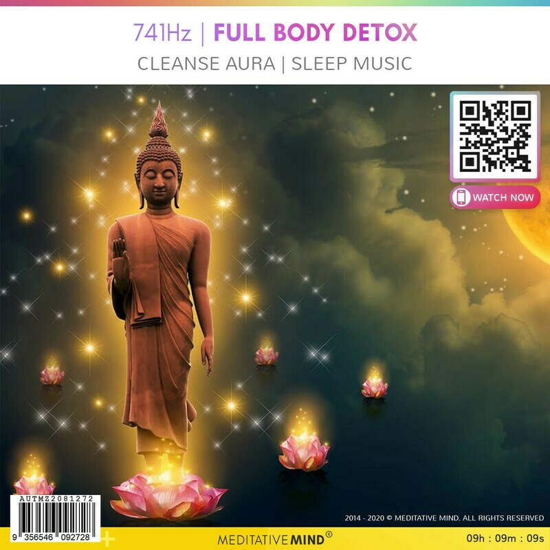 741Hz | FULL BODY DETOX - Cleanse Aura | Sleep Music