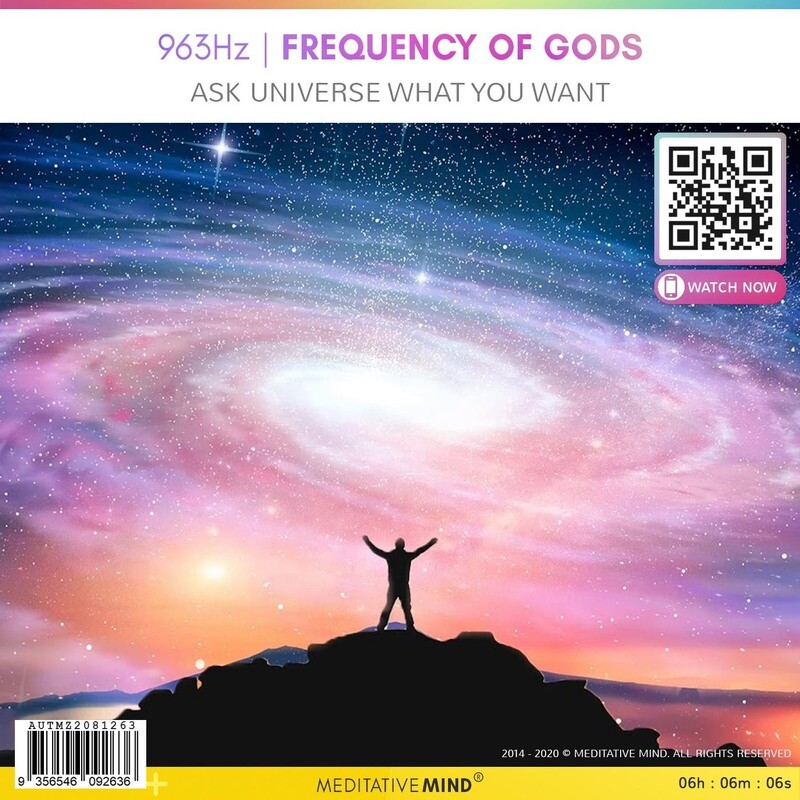 963Hz | FREQUENCY OF GODS - Ask Universe What You Want