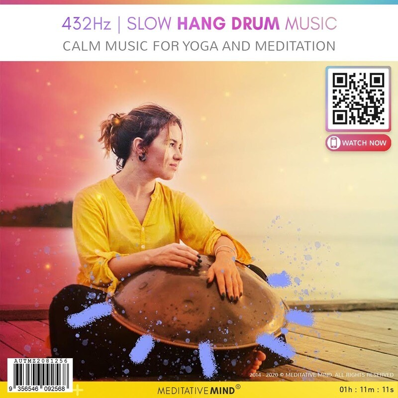 432Hz | SLOW HANG DRUM MUSIC - Calm Music for Yoga and Meditation