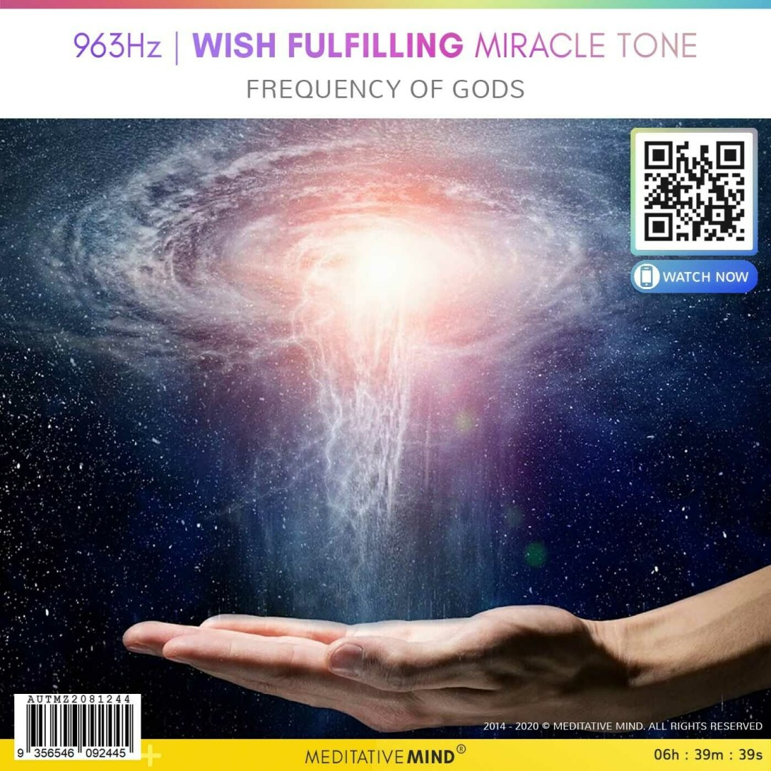 963Hz | Wish Fulfilling Miracle Tone - Frequency of Gods