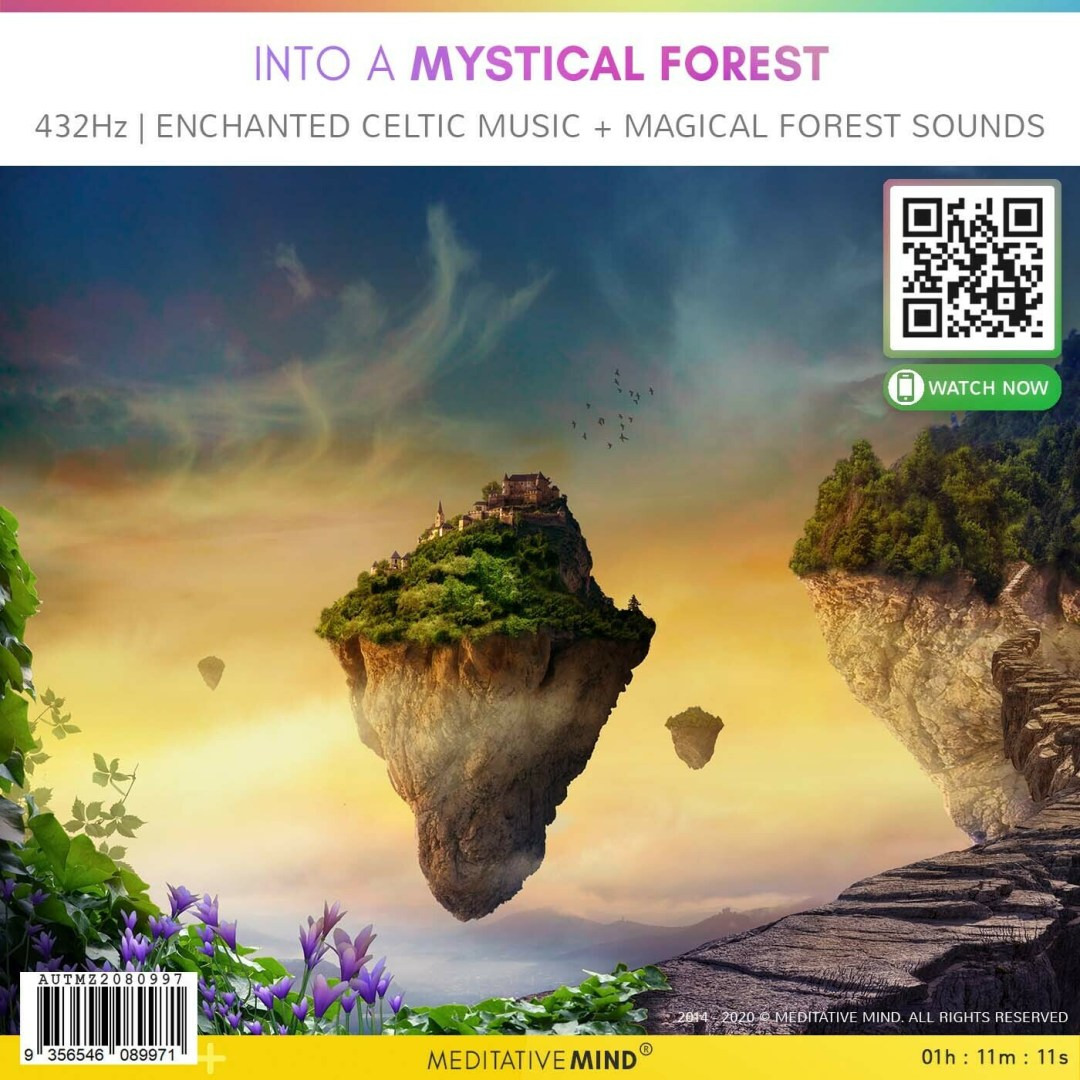 Into A Mystical Forest - 432Hz l Enchanted Celtic Music + Magical Forest Sounds