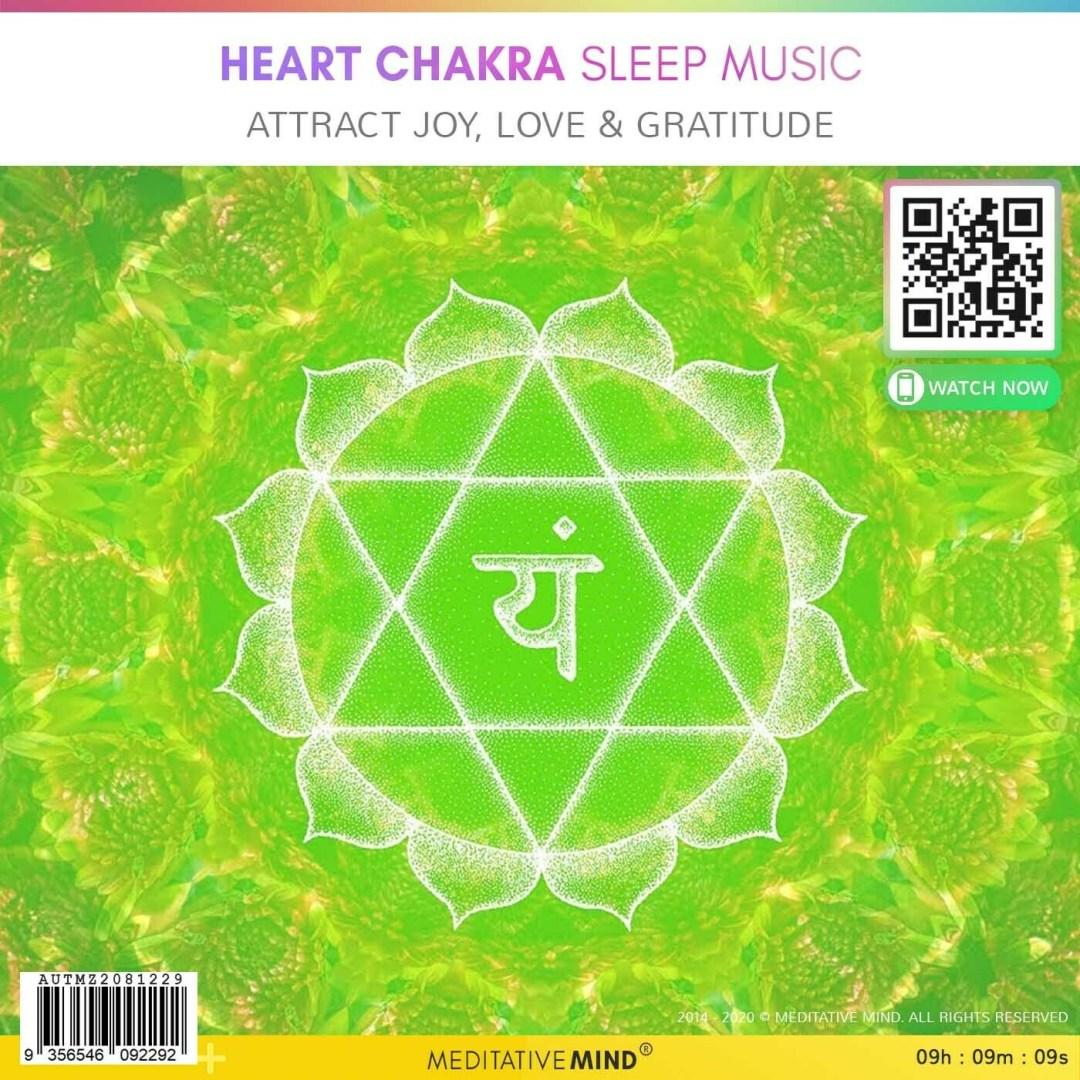 HEART CHAKRA Sleep Music - Attract Joy, Love & Gratitude