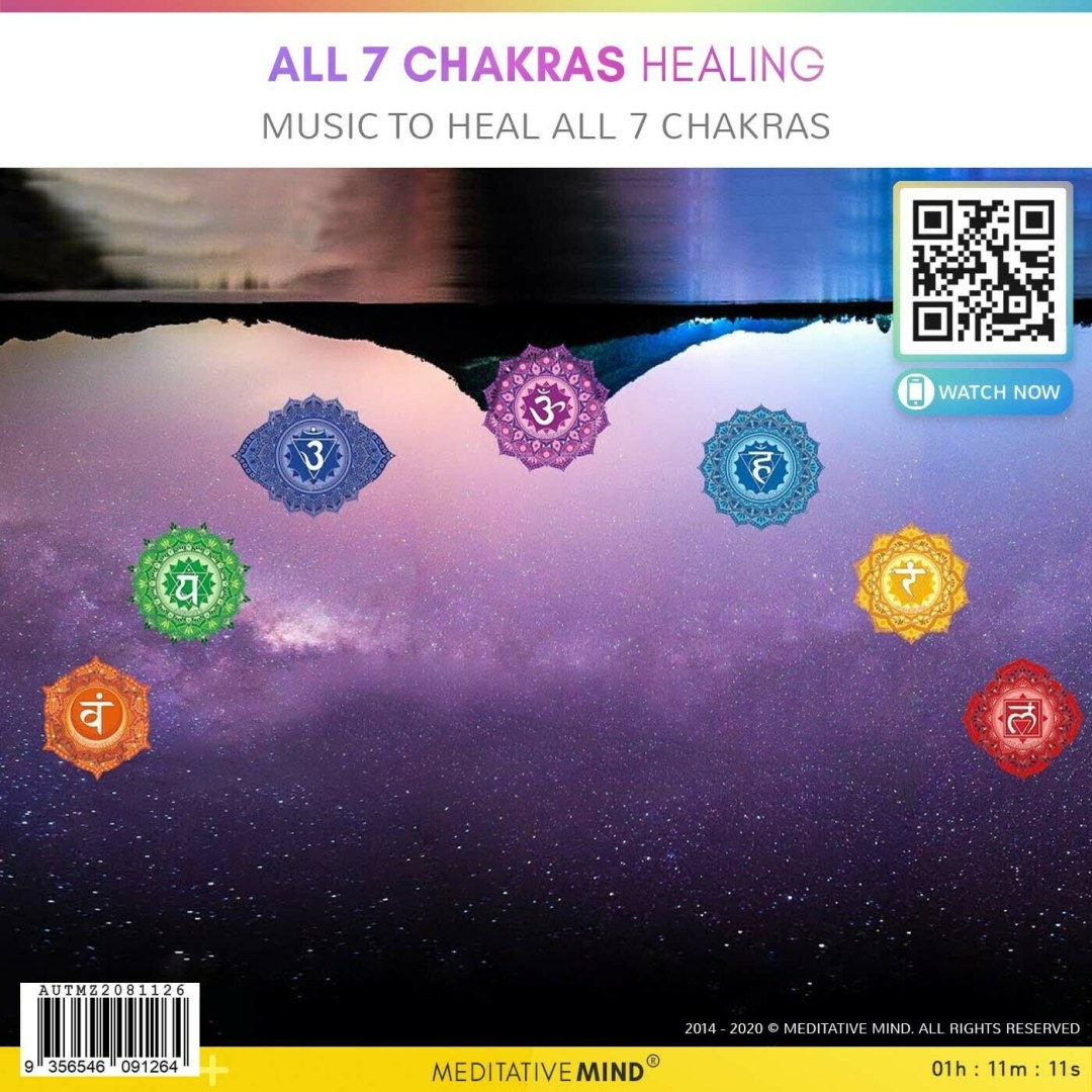ALL 7 CHAKRAS HEALING - Music to Heal All 7 Chakras