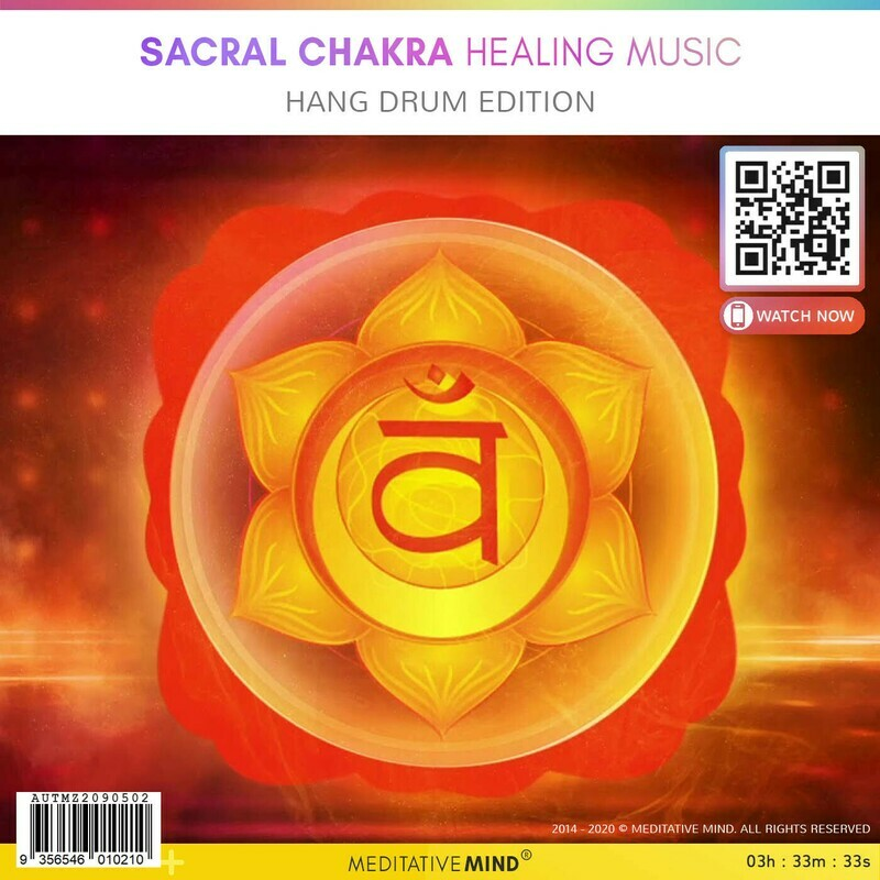 Sacral Chakra Healing Music - Hang Drum Edition