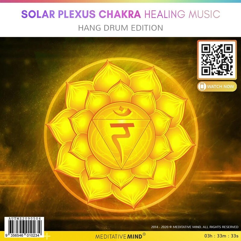 Solar Plexus Chakra Healing Music - Hang Drum Edition