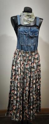 Repurposed Original Overall Dress