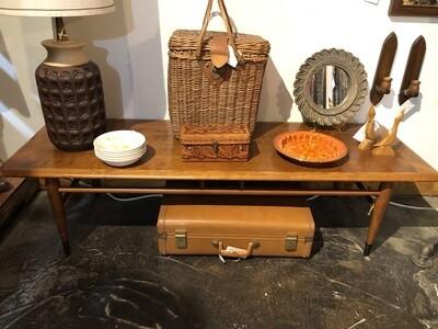 Mid Century Walnut Coffee Table by Lane