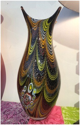 Vintage 1950's Murano Vase