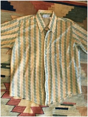Vintage Men's Short Sleeve Button Down