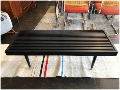1960's Danish Style Slat Bench or Table