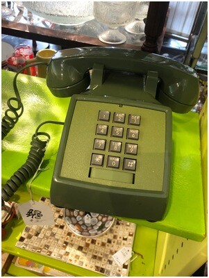 Vintage Green Touch Tone Phone
