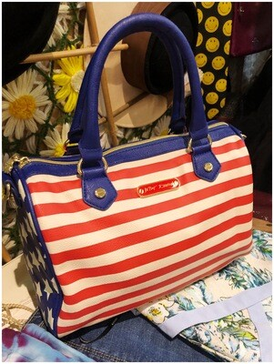 American Flag Purse by Betsy Johnson