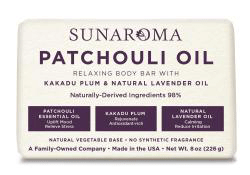 Sunaroma Soap- Patchouli Oil with Kakada plum & Natural  Lavender oil
