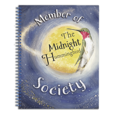 The Midnight Hummingbird Society Notebook