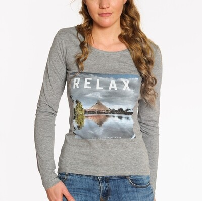 RELAX. Travel top long sleeve grey