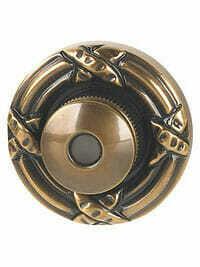 Von Morris Door Hardware Ribbon & Reed DoorBell-LARGE