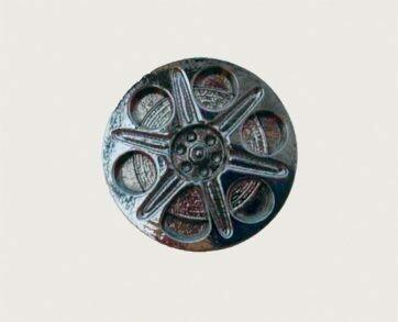 Emenee Decorative Cabinet Hardware Film Spool Knob 1-1/2