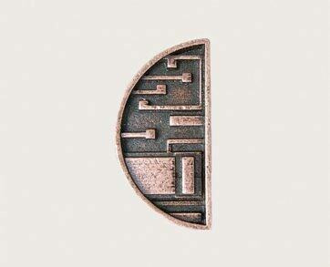 Emenee Decorative Cabinet Hardware Mission Knob Half Circle 1-1/2