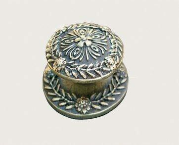 Emenee Decorative Cabinet Hardware Medici Laurel Leaf Knob 1-1/2