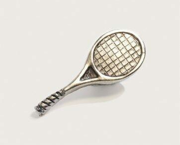 Emenee Decorative Cabinet Hardware Tennis 2-1/2