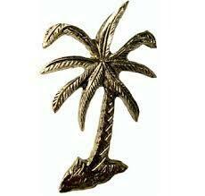 Emenee Decorative Cabinet Hardware Palm Tree  2-1/2