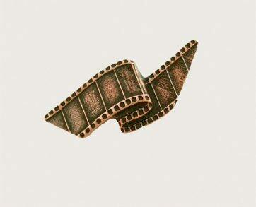 Emenee Decorative Cabinet Hardware Film Reel Knob 2-1/8