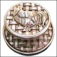Emenee Decorative Cabinet Hardware Medici Rooster Knob 1-1/2