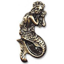 Buck Snort Lodge Decorative Hardware MermaidCabinet Knob