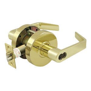 Deltana Architectural Hardware Commercial Locks: Pro Series Comm. Store Room IC Core GR2, Clarendon Less CYL each