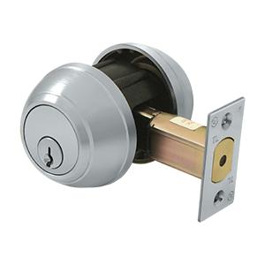 Deltana Architectural Hardware Commercial Locks: Pro Series Double Deadbolt GR1 w/ 2 3/4