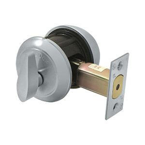 Deltana Architectural Hardware Commercial Locks: Pro Series Single Deadbolt IC Core Non CYL GR1 w/ 2 3/4