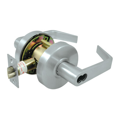 Deltana Architectural Hardware Commercial Locks: Pro Series Comm. Entry IC Core GR2, Clarendon Less CYL each