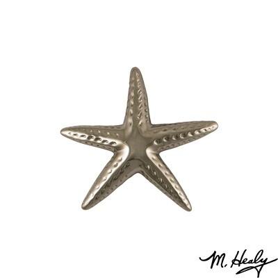 Michael Healy Designs Starfish Door Knocker - Nickel Silver-Standard
