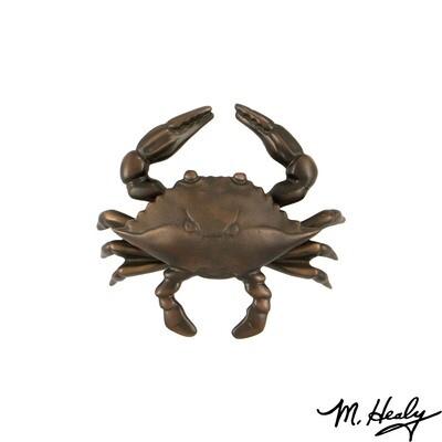 Michael Healy Designs Blue Crab Door Knocker - Oil Rubbed Bronze-Standard