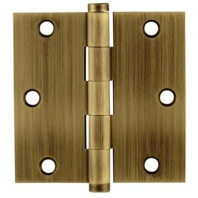 Emtek Door Hardware Residential Heavy Duty Hinges Solid Brass 3-1/2