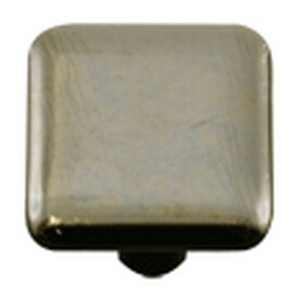 Hot Knobs Metal Collection Glass Cabinet Knob Silver