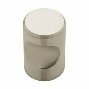 Liberty Hardware Large Round Cylinder Thumb Cabinet Knob