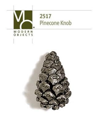 Modern Objects Designer Hardware Pinecone Cabinet Knob