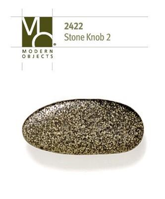 Modern Objects Designer Hardware Stone 2 Cabinet Knob