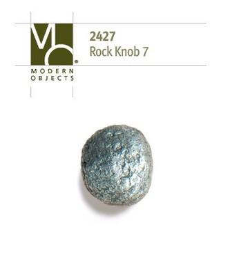 Modern Objects Designer Hardware Rock 7 Cabinet Knob