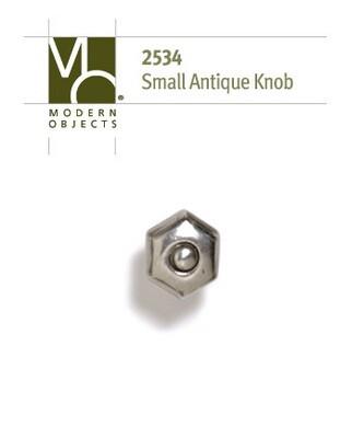 Modern Objects Designer Hardware Small Antique Cabinet Knob
